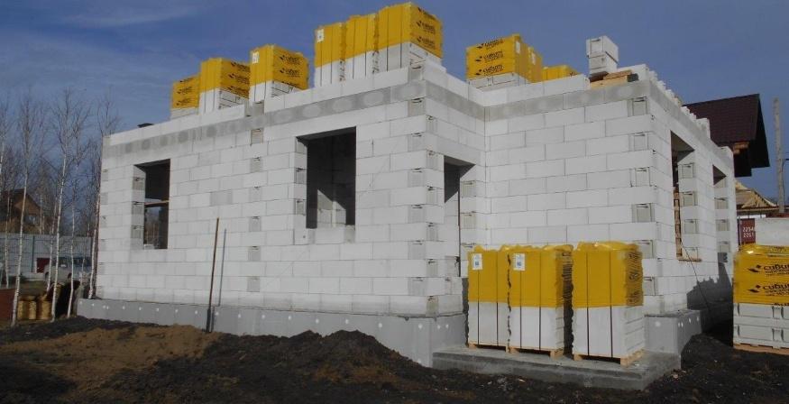 Какой газобетон лучше? Строим дом из газобетонных блоков в Сибири