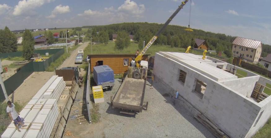Строим дом из газобетона СИБИТ